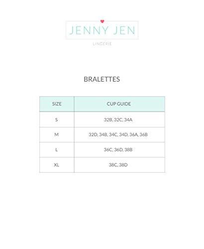 7189a9c7dd593 Jenny Jen Sexy Lace MIA Hourglass Racerback Bralette for women