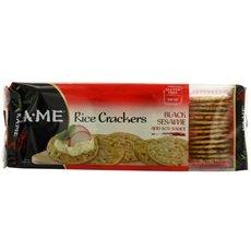 (Ka-Me Rice Crunch Cracker Black Sesame & Soy Sauce (12x3.5Oz))