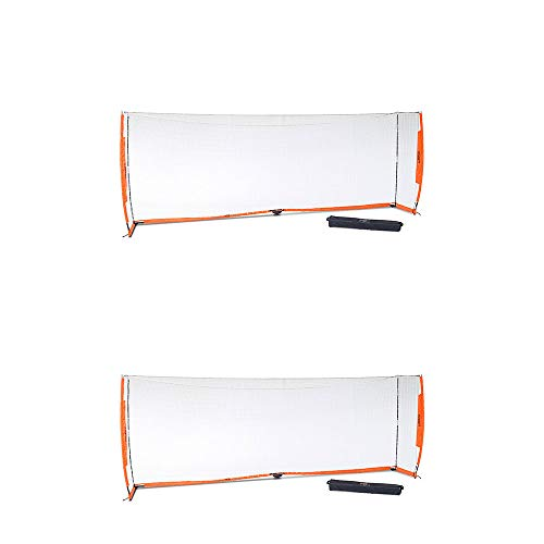 - Bownet Portable Youth Training Practice Soccer Goal, Orange (2 Pack)