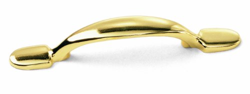 Laurey 55237 3-Inch Classic Traditions Pull, Polished Brass