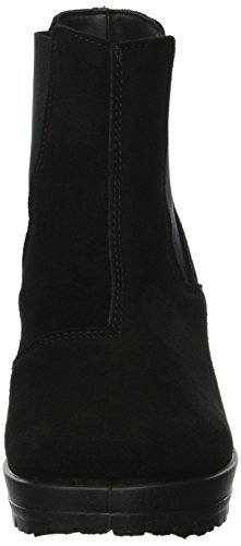 48934 Wildleder Damen Boots Chelsea Bianco 27 BqfY5w5I
