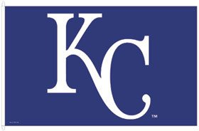 WinCraft MLB Kansas City Royals WCR25517061 Team Flag, 3' x 5'