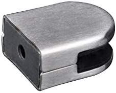 10 mm 53 x 43 x 24 mm 20 pinzas de cristal de acero inoxidable para cristal de 8