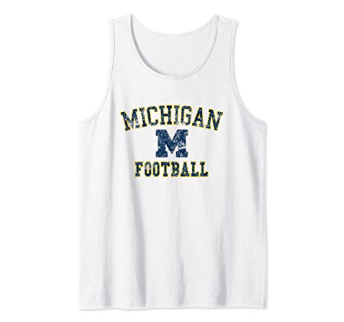 Vintage Michigan Football Tank Top