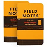 Field Notes Utility Special Edition Ledger Memo Books, 3-Pack (3.5x5.5-Inch) Spring 2017
