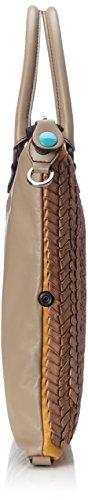 Gabs Damen G3 Henkeltasche, 1x31x38 cm Braun (Taupe+taupe)