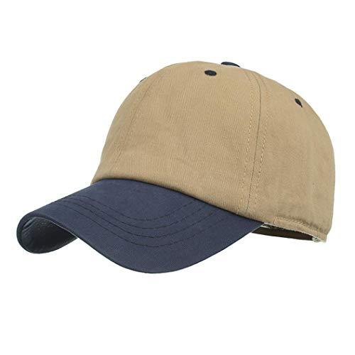 ecb043c4042 Hanican Classic Women Men Hats Casual Patchwork Baseball Cap