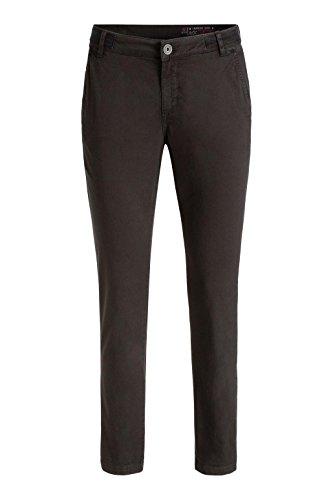 edc by Esprit Mit Stretch, Pantalones para Mujer Negro (BLACK 001)