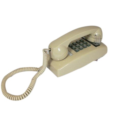 Cortelco 255444-Vba-20m Wall Phone With Volume Ash ()