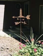 Ohio State Garden Stake Weathervane
