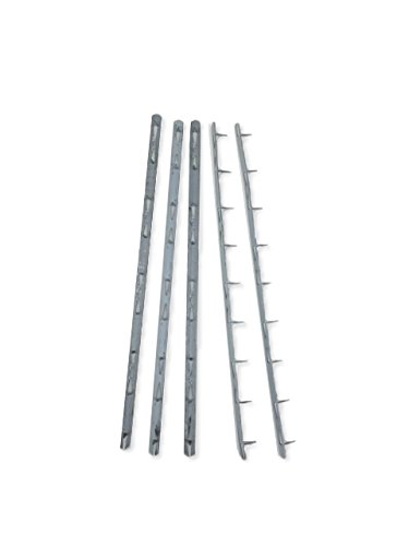 """Price comparison product image Upholstery Metal Tack Strip - 5 Pack,  8"""" Long"""