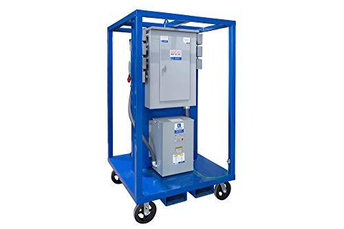 25 KVA Portable Power Distribution - 480V to 120/240V 1PH - (1) AR342 (8) 5-20R GFCI Dplx -