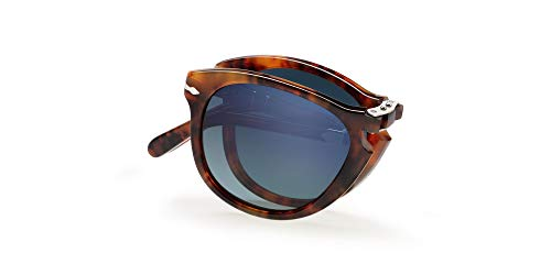 Persol PO0714SM Steve McQueen Sunglasses 108/S3 Cafe/Blue Gradient Dark Blue Polar Lens 54mm