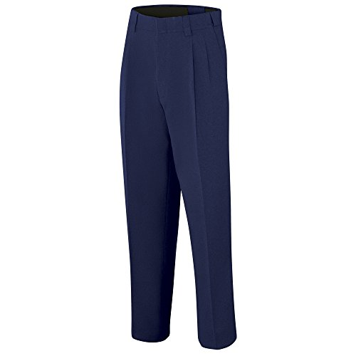Adams USA ADMBB375-34-NY Umpire Combo Pleated Expandable Waist Uniform Pants, Navy, Size 34