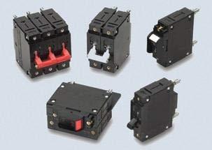 CA2-B0-34-620-121-D – Magnetic Hydraulic Circuit Breaker, C Series, 20 A, 2 Pole, 480 V, 20 s, 5 kA