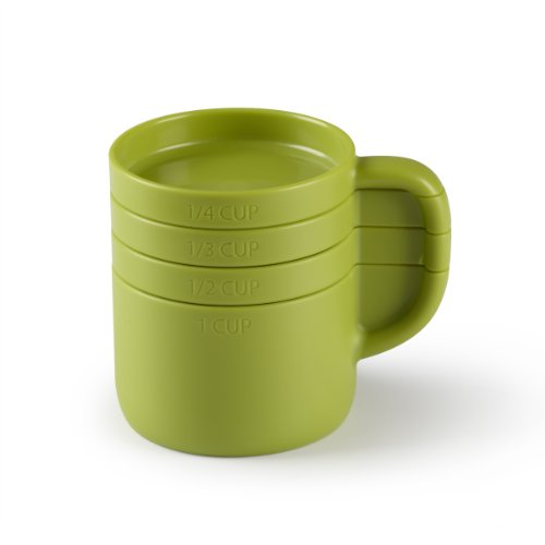 Umbra Cuppa Measuring Cup Set, Avocado