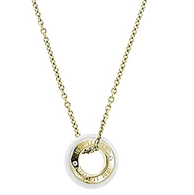 b912196789 Cerruti 1881 Women's Rose Gold Stainless Steel Chains Necklace ...
