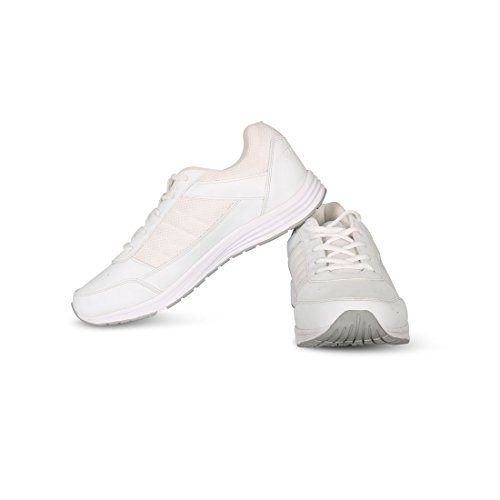 Vector X School Shoes for Boys  White