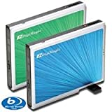 EZPnP DM110-BD External Slim Type Blu-Ray Burner for PC with One-Key Back Up