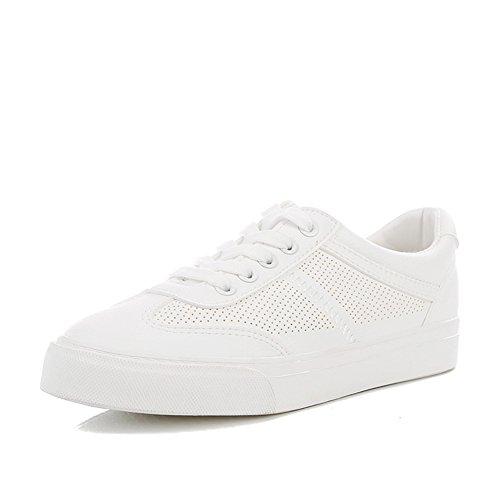 Student Hohle Flach Koreanischen Liebhaber C Schuhe Kleine Sommer Freizeitschuhe boden Schuhe Weiße Joker zxHOxwqF