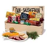 Dan the Sausageman's Favorite Gourmet Gift Basket -Featuring Dan's Original Sausage, Seabear Smoked Salmon, 100% Wisconsin Cheeses, and Dan's Sweet Hot Mustard