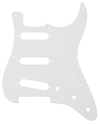 Fender Pure Vintage '56/'59 Stratocaster Electric Guitar Pickguard, 10-Hole - Eggshell 1-Ply