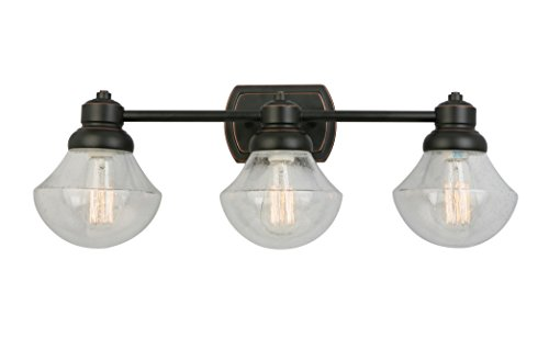 Design Vanity Light - Design House 577874 Sawyer Three Vanity Light, Oil Rubbed Bronze