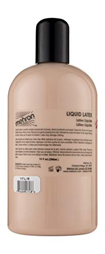 Mehron Makeup Liquid Latex (16 oz) (Light Flesh)]()