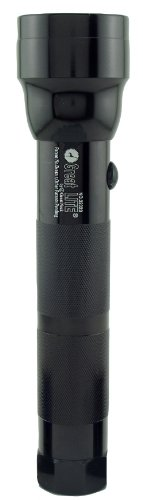 GreatLite 32023 2D Hi-Intensity Aluminum Flashlight, Black