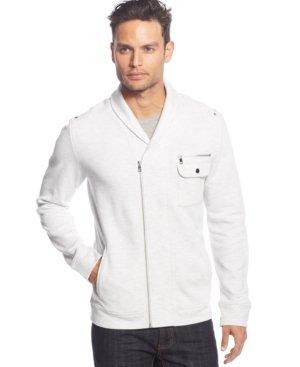 INC International Concepts Jordan Shawl Collar Jacket Cloud Grey Heather Size L by INC International Concepts