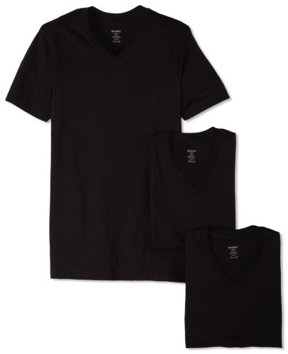 (Essential Cotton 3 Pack V-Neck T-Shirt)