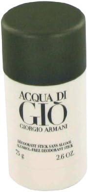 ACQUA DI GIO DEODORANT STICK FOR MEN 2.6oz ALCOHOL FREE by GIORGIO ARMANI
