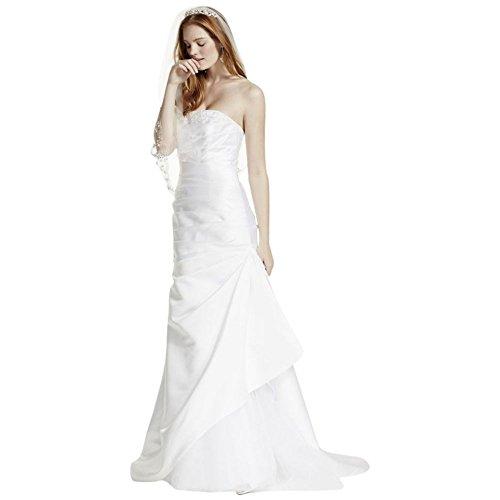 Davids Bridal Strapless Satin - 2