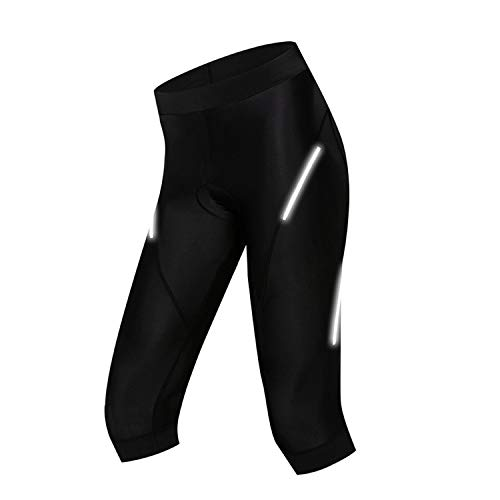 Womens Mountain Bike Bicycle Shorts 3D Gel Padded Breathable,Color 2,S
