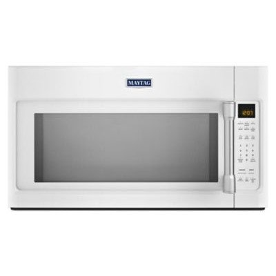 2.0 Cu. Ft. 1000W Over-the-Range Microwave with Sensor Cooking Finish: White by Maytag