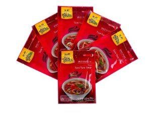 Asian Home Gourmet Hot Spice Paste for Tom Yum Soup, 1.75oz Packets (Pack of 6)