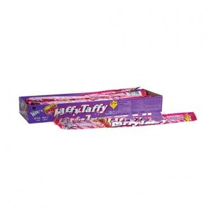 WONKA LAFFY TAFFY ROPE STRAWBERRY 3/99c 0.81 oz Each ( 24 in a Pack )
