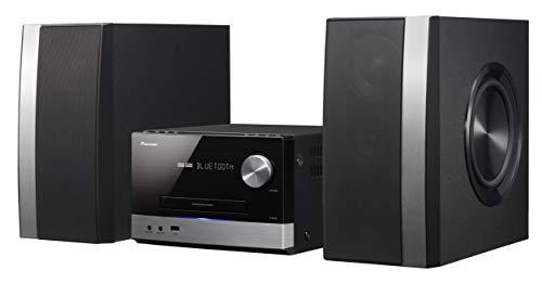 Pioneer X-PM12 Microcadena 38 W, est/éreo, Bluetooth, USB frontal color plateado