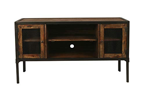 New Classic Furniture T1479-40 Colchester Occasional Entertainment Console, Wood