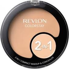 Revlon ColorStay 2-in-1 Compact Makeup & Concealer, 110, Ivory (Pack 2)