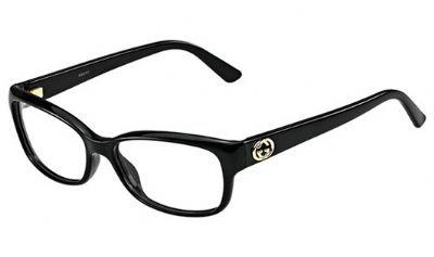 Gucci GG3648 Eyeglasses-0D28 Shiny Black - 2013 Glasses Gucci Prescription
