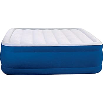 simmons air mattress. simmons beautyrest plush aire inflatable air mattress: raised-profile bed with external pump mattress i