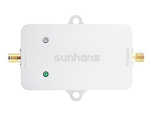 Sunhans 2W 5.8 GHz Wifi Signal Booster, 2000mW 33dBm Wireless Signal Booster Amplifier Repeater Extender