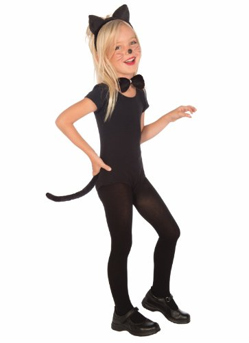 [Plush Kitty Cat Child Costume Kit] (Kitty Accessory Kit)