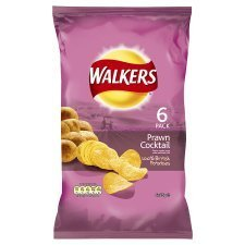 (Walkers Prawn Cocktail 6Pk x 4)
