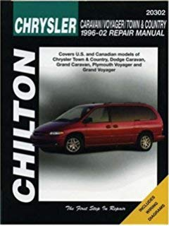 Chilton Dodge Caravan/Voyager / Town & Country 1996-2002 Repair Manual - Caravan Manual Dodge
