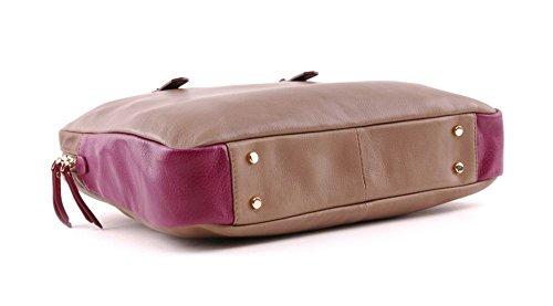 CINQUE Fabiola - Kleine Businesstasche in braun / violett