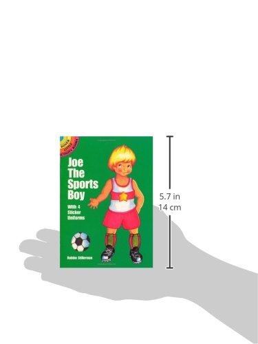 Joe the Sports Boy: With 4 Sticker Uniforms (Dover Little Activity Books Paper Dolls)