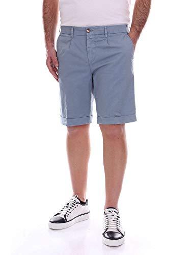 Hombre Claro Verdera Algodon Shorts Azul 104270lightblue 18xwqTd