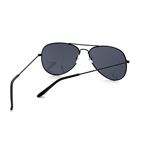 de Film de Gafas de Hombres Sol Gafas Gafas Sol Black Box Sunglasses Color clásicas Moda de Black And Gray Black para Sol Black Trend Film Gray Box and 1v0wf5dq